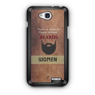 YuBingo Beard Designer Mobile Case Back Cover for LG L90