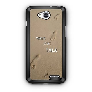 YuBingo Walk the Talk Designer Mobile Case Back Cover for LG L90