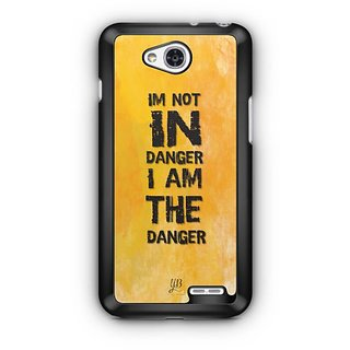 YuBingo I Am The Danger Designer Mobile Case Back Cover for LG L90