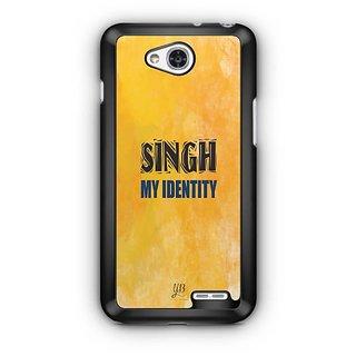 YuBingo Singh My Identity Designer Mobile Case Back Cover for LG L90