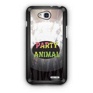 YuBingo Party Animal Designer Mobile Case Back Cover for LG L90
