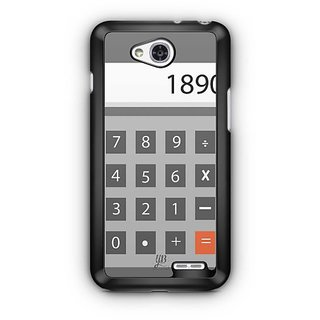 YuBingo Calculator on the other side Designer Mobile Case Back Cover for LG L90