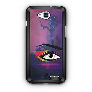 YuBingo Colourful Eye Designer Mobile Case Back Cover for LG L90
