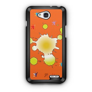 YuBingo Colours on Canvas Designer Mobile Case Back Cover for LG L90
