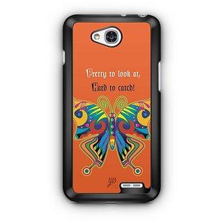 YuBingo Colourful Butterfly Designer Mobile Case Back Cover for LG L90