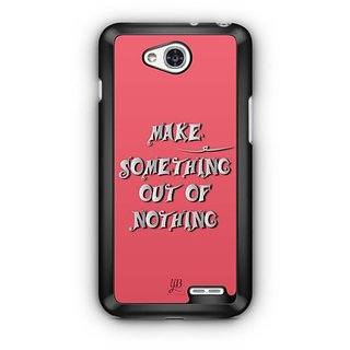 YuBingo Make Something out of Nothing Designer Mobile Case Back Cover for LG L90