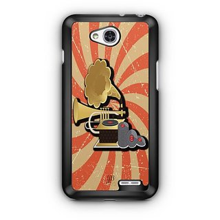YuBingo Vintage Gramophone Designer Mobile Case Back Cover for LG L90