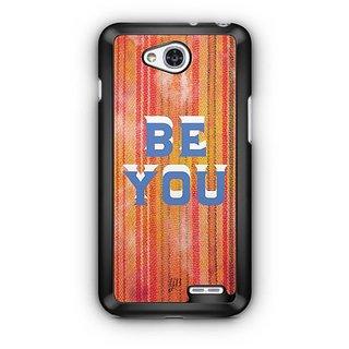 YuBingo Be You Designer Mobile Case Back Cover for LG L90