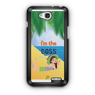 YuBingo I'm the Boss Designer Mobile Case Back Cover for LG L90