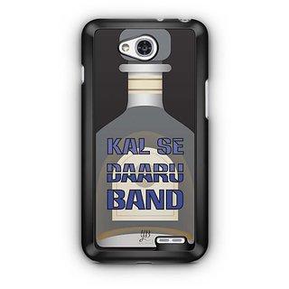 YuBingo Kal Se Daaru Band Designer Mobile Case Back Cover for LG L90