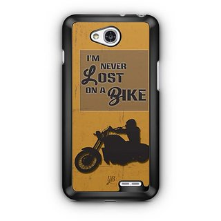 YuBingo Never Lost on a Bike Designer Mobile Case Back Cover for LG L90