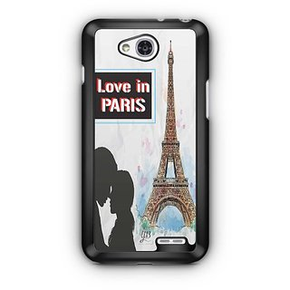 YuBingo Love in Paris Designer Mobile Case Back Cover for LG L90