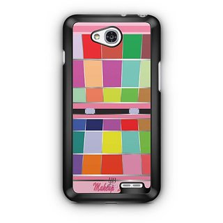 YuBingo Makeup Love Designer Mobile Case Back Cover for LG L90