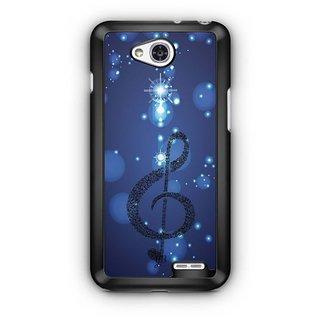 YuBingo Musical Note Designer Mobile Case Back Cover for LG L90