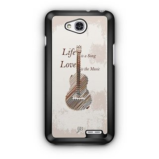 YuBingo Life is a Song Designer Mobile Case Back Cover for LG L90