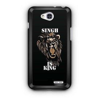 YuBingo Singh is King Designer Mobile Case Back Cover for LG L90