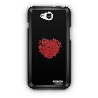 YuBingo Heart Designer Mobile Case Back Cover for LG L90