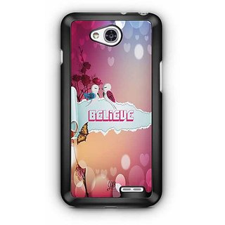 YuBingo Believe    Designer Mobile Case Back Cover for LG L90