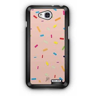 YuBingo Color Pellets Designer Mobile Case Back Cover for LG L90