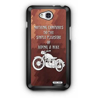 YuBingo Nothing Equals the Pleasure of Riding a Bike Designer Mobile Case Back Cover for LG L90