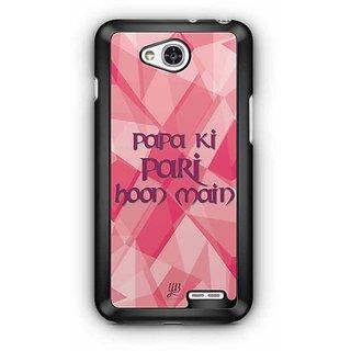 YuBingo Papa ki pari Hoon Main Designer Mobile Case Back Cover for LG L90