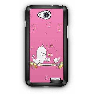 YuBingo Love Birds Designer Mobile Case Back Cover for LG L90
