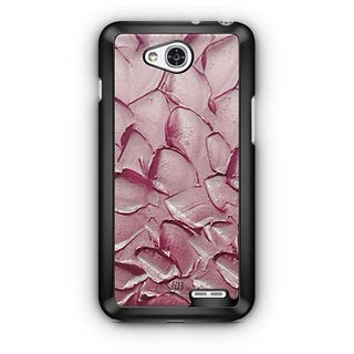 YuBingo Oil Paint Petals Designer Mobile Case Back Cover for LG L90