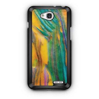 YuBingo Oil Paint Rainbow Designer Mobile Case Back Cover for LG L90