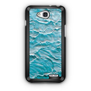 YuBingo Blue Water Colour Designer Mobile Case Back Cover for LG L90