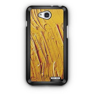 YuBingo Yellow Water Colour Designer Mobile Case Back Cover for LG L90