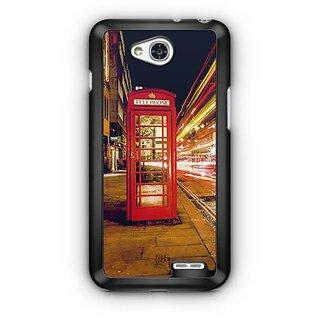 YuBingo Telephone Booth Designer Mobile Case Back Cover for LG L90