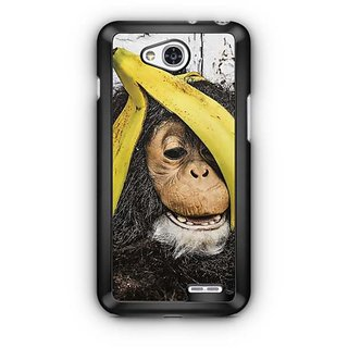 YuBingo Banana on a Chimp Designer Mobile Case Back Cover for LG L90