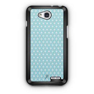 YuBingo Blue circles Pattern Designer Mobile Case Back Cover for LG L90