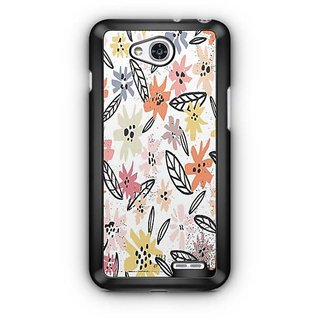 YuBingo Multi colour flowers pattern Designer Mobile Case Back Cover for LG L90