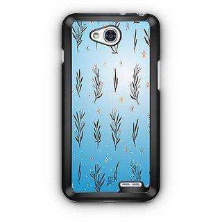 YuBingo Leafy flowery pattern Designer Mobile Case Back Cover for LG L90