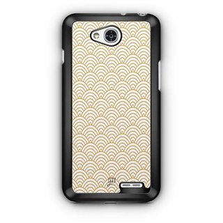 YuBingo Semi Circle Pattern Designer Mobile Case Back Cover for LG L90