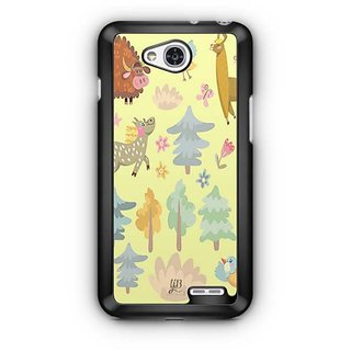 YuBingo Animals, Birds and trees pattern Designer Mobile Case Back Cover for LG L90