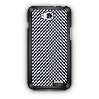 YuBingo Black arrow pattern Designer Mobile Case Back Cover for LG L90