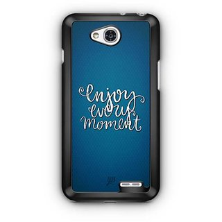 YuBingo Enjoy Every Moment Designer Mobile Case Back Cover for LG L90