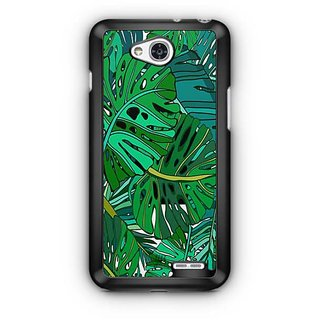 YuBingo Tropical leaves pattern Designer Mobile Case Back Cover for LG L90