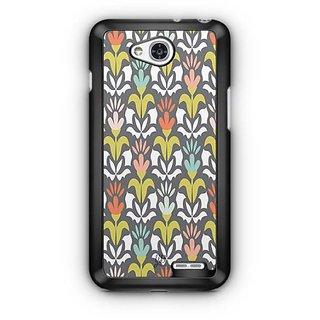 YuBingo Colourful flowers Designer Mobile Case Back Cover for LG L90
