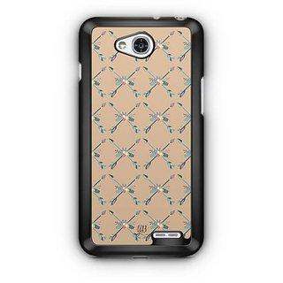 YuBingo Crossed Arrow Designer Mobile Case Back Cover for LG L90