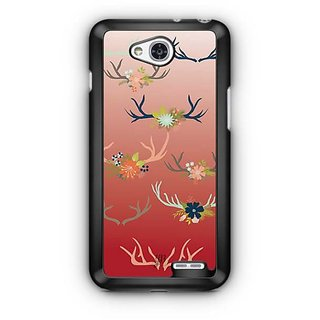 YuBingo Deer horns pattern Designer Mobile Case Back Cover for LG L90