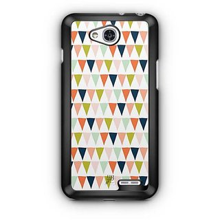 YuBingo Triangle pattern Designer Mobile Case Back Cover for LG L90