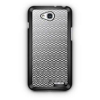 YuBingo Black and white Abstract Design Designer Mobile Case Back Cover for LG L90