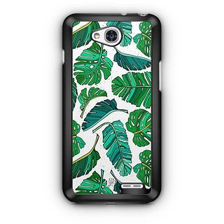 YuBingo Leafy Pattern  Designer Mobile Case Back Cover for LG L90