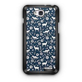 YuBingo Deer and fox pattern Designer Mobile Case Back Cover for LG L90