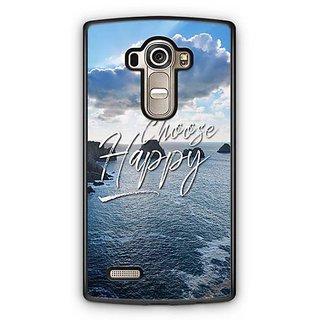 YuBingo Choose Happy Designer Mobile Case Back Cover for LG G4