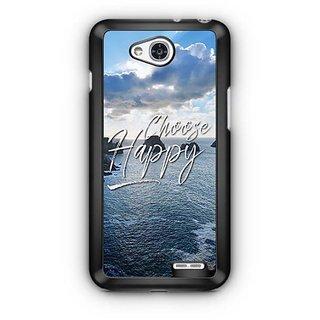 YuBingo Choose Happy Designer Mobile Case Back Cover for LG L90