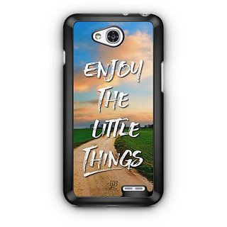 YuBingo Enjoy The Little Things Designer Mobile Case Back Cover for LG L90